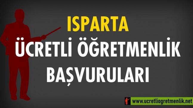 Isparta Ücretli Öğretmenlik Başvuruları (2020-2021)