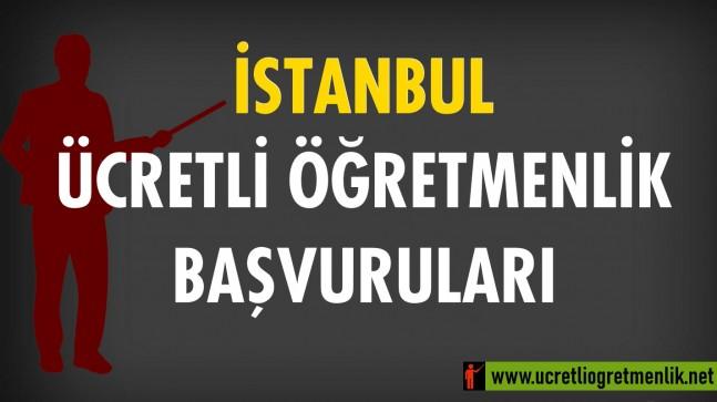 İstanbul Ücretli Öğretmenlik Başvuruları (2020-2021)
