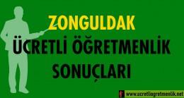 Zonguldak Ücretli Öğretmenlik Sonuçları (2020-2021)