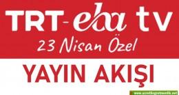 23 Nisan'ın 100. yıl coşkusu TRT EBA TV'de kutlanacak