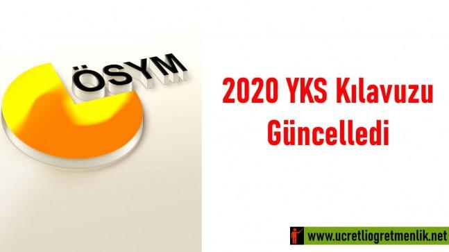 2020 YKS Kılavuzu Güncellendi