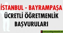 İstanbul – Bayrampaşa Ücretli Öğretmenlik Başvuruları (2020-2021)