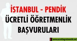 İstanbul – Pendik Ücretli Öğretmenlik Başvuruları (2020-2021)