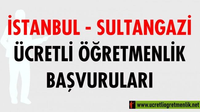 İstanbul – Sultangazi Ücretli Öğretmenlik Başvuruları (2020-2021)