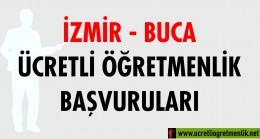İzmir Buca Ücretli Öğretmenlik Başvuruları (2020-2021)