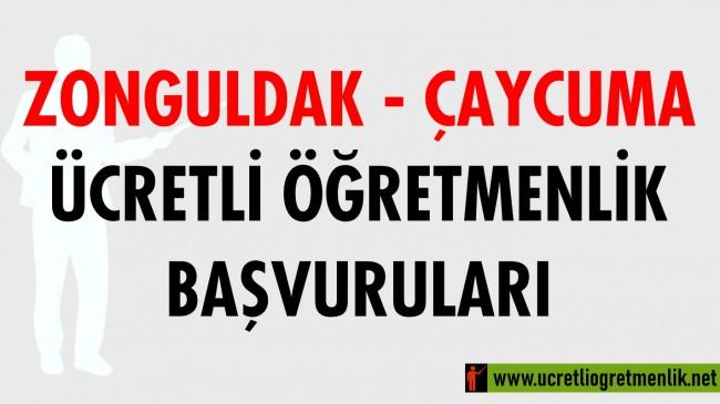 Zonguldak Çaycuma Ücretli Öğretmenlik Başvuruları (2020-2021)