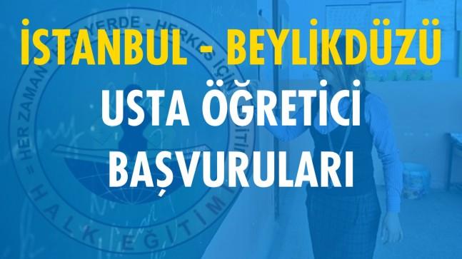 İstanbul Beylikdüzü Usta Öğretici Başvuruları (2020-2021)