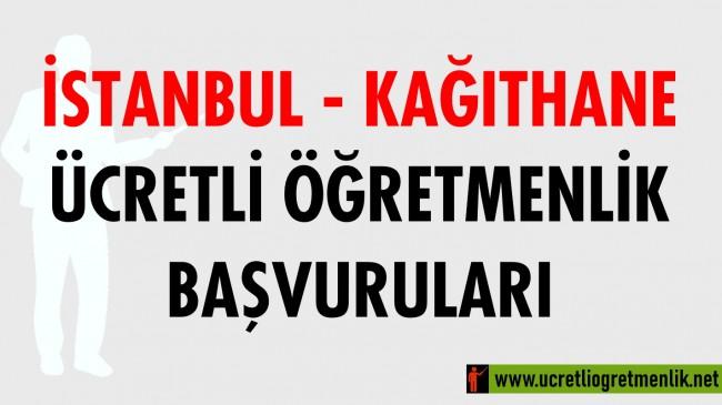 İstanbul Kağıthane Ücretli Öğretmenlik Başvuruları (2020-2021)