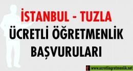 İstanbul Tuzla Ücretli Öğretmenlik Başvuruları (2020-2021)