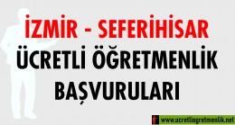 İzmir Seferihisar Ücretli Öğretmenlik Başvuruları (2020-2021)