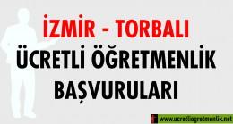 İzmir Torbalı Ücretli Öğretmenlik Başvuruları (2020-2021)