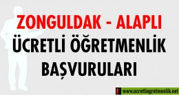 Zonguldak Alaplı Ücretli Öğretmenlik Başvuruları (2020-2021)