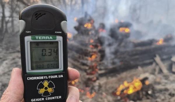 Çernobil'de Radyosyon seviyesi 16 kat arttı