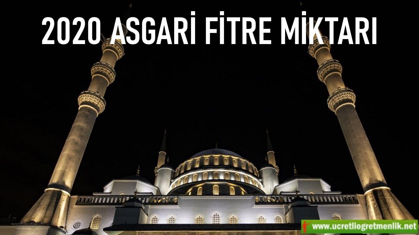 2020 Ramazan Fitre Miktarı Ne Kadar? Belli oldu